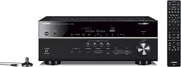 Yamaha RX-V685BL 7.2-Channel 4K Ultra HD AV Receiver with Wi-Fi Bluetooth and MusicCast Works with Alexa (Black)