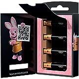 Duracell Alkaline batterijen AAA Optimum, 1,5 V, LR03 MX2400, 4 stuks