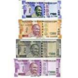 E Shopping Dummy Indian Currency Notes 400 Units, Each 100 Notes of 100, 200, 500, 2000 Rupee Notes for Children Playing…