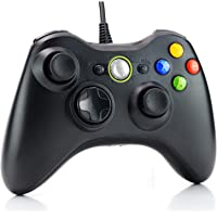 Dhaose Wired Controller for Xbox 360, USB Wired PC Joystick Gamepad for Xbox 360,Improved Ergonomic Design Controller for Xbox 360 Slim PC with Windows Vista/7/8/8.1/10