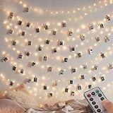 [Lot de 2] guirlande Lumineuse 120 LED 12M 8 modes Alimenté par USB Fairy Lights IP65 pour l'extérieur et l'intérieur en cuiv