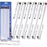 Cefrank LED sous Vitrine, Kit de 6 Barres Lumineuses connectables, Bandes de LED sous Meubles Eclairage, 300 mm x6, avec Inte