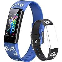 Dwfit Fitness Armband Kinder,Fitness Tracker mit Pulsmesser Fitness Uhr Kinder Aktivitätstracker Schrittzähler…