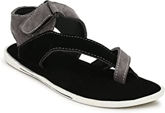 Corstyle Cross-Strap Casual Synthetic Leather Sandals for Men