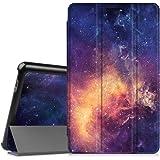 """Fintie Huawei Mediapad T3 8 Housse Case - Ultra-Mince et Léger étui à Rabat Coque Protection pour Huawei MediaPad T3 8 20,3 cm 8"""" Tablette, Galaxy"""