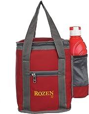 Rozen Muitifunction Lunch Tiffin Bag (Red)