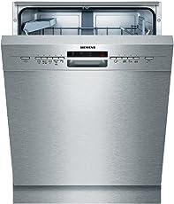Siemens iQ500 SN45M539EU speedMatic Unterbau-Geschirrspüler / A++ / 13 Maßgedecke / Edelstahl / VarioSpeed / GlasSchonsystem / DosierAssistent