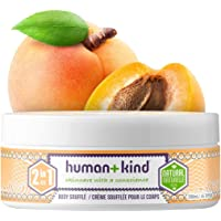 Human+Kind 2-in-1 Body Souffle | Apricot Oil | Kind | Vegan | Natural | Organic | Cruelty Free | Lightly Whipped Fluffy…