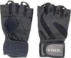 Delta Elite FGL 9013 Antreman Çalışma Eldiveni, Gri