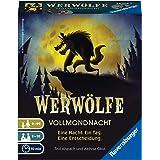 Ravensburger Kartenspiele 26703 - Werwölfe - Vollmondnacht, Kartenspiel für Erwachsene und Kinder ab 9 Jahren