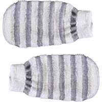 GUBB Bath Mitt For Dead Skin Removal   Exfoliating Bath Mitten   Bath Gloves Pack of 2