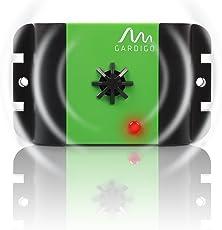 Gardigo Marder-Frei Mobil Ultraschall, Marderschreck, Marderschutz, Marderscheuche, Marderabwehr, Marderfrei, batteriebetrieben mobil einsetzbar für Auto, Haus und überall, mit Vibrationssensor