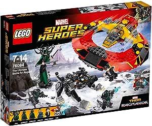 LEGO Marvel Super Heroes - La bataille suprême pour la survie d'Asgard - 76084 - Jeu de Construction