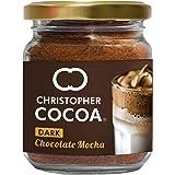 Christopher Cocoa Dark Chocolate Mocha (Instant Coffee Cocoa, No Sugar, Vegan), 50 g