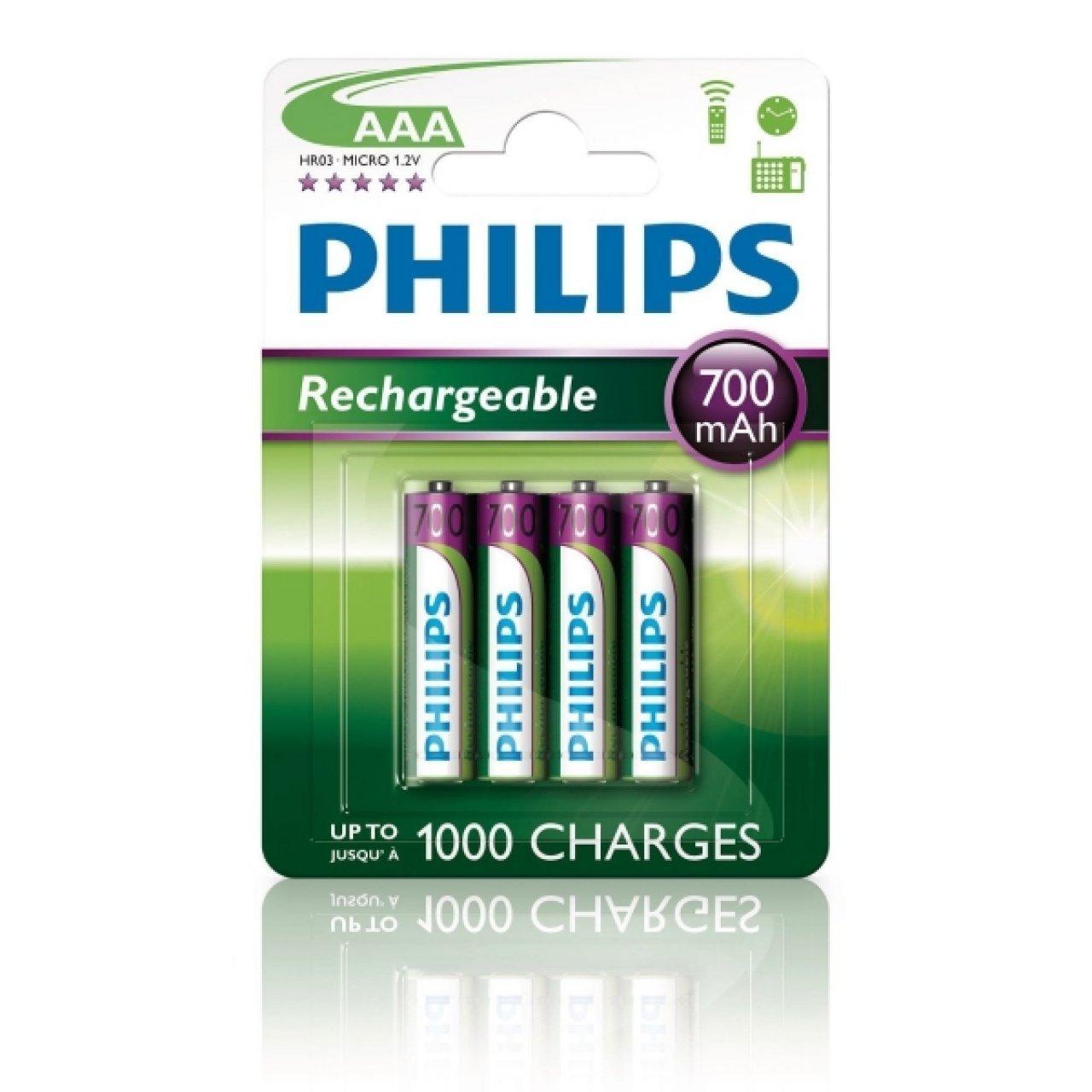 Philips Multilife HR03 batteria in confezione da 4 pz.