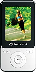 Transcend MP710 Digital Music Player 8GB - White