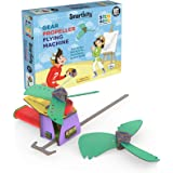 Smartivity Gear Propeller Flying Machine STEM STEAM Educational DIY Building Construction Activity Toy Game Kit, Easy Instruc