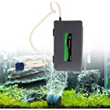 QYWSJ Waterproof Portable Portable Air Powered Pump Dry Battery-Operated for Aquarium Fish Tank Oxygenator Battery Operated Air Pump