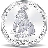 ACPL Precious Moments Silver Coin Lord Krishna 10 gm 999 Pure