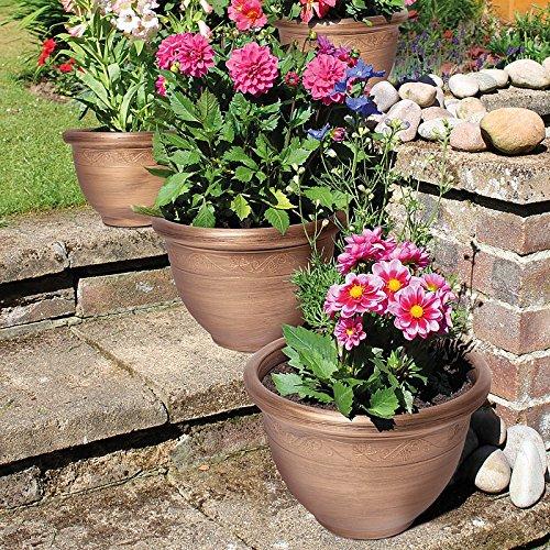 set-of-4-round-bronze-garden-planters