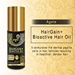 Aegte HairGain+ Bioactive Hair Oil Enriched with Active Holy Basil & Ginger for Healthy Hair 100ml