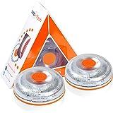 HELP FLASH 2X V2 2021 - luz de Emergencia AUTÓNOMA, señal preseñalización de Peligro y Linterna, homologada, normativa DGT, V