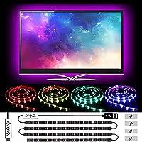 Ruban Led, L8star Led Ruban Intelligent Bande Lumineuse Led 5050 RGB SMD Multicolore Bande LED Lumineuse avec…