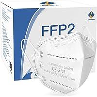 Lexuslance - 50 Mascherine FFP2 Certificate CE Europa Adulti BFE ≥95% sigillate in comode bustine tascabili apri e…