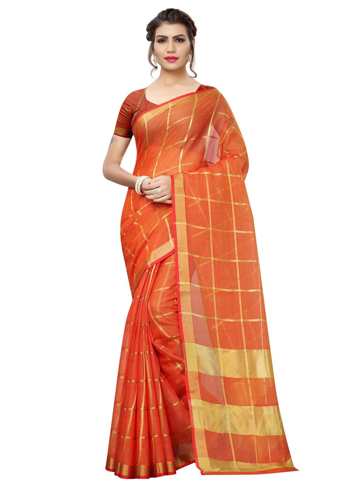 Kanchnar Women's Poly Silk Saree