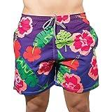 OPTIMUM Beachbums Hawaiian, Pantaloncini da Bagno Uomo
