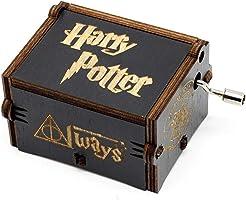Funmo - Carillon Harry Potter in Pura Mano-Classica Carillon in Legno a Mano Creativo in Legno Artigianato Migliori Regali