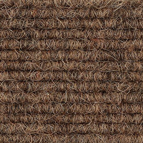 Teppichboden Teppich-Fliese | Tretford Interland ECO | 50x50 cm | braun 572
