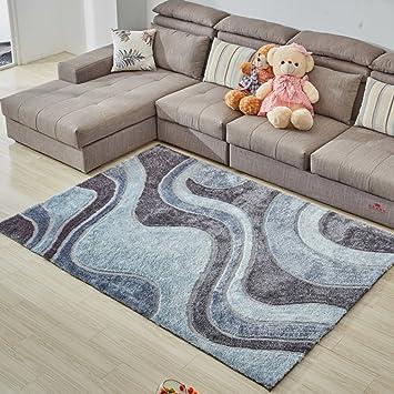 Dekoration Wohnzimmer Teppich,Rechteck Teppich Modern Schlafzimmer Bett]  Teppich D 120x170cm(47x67inch