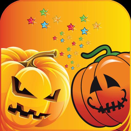 Halloween Mützen (Halloween-Kürbis-Puzzle - lustige und lehrreiche Lernspiel für Jungen und Mädchen jeden)