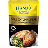 Hanaa Tuna Steak Grilled with Black Pepper Sauce, 120g - Pack of 1