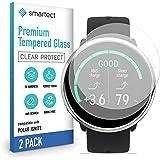 smartect 9H Skärmskydd i härdat glas för Polar Ignite [2-Pack] - Ultratunn design - Anti-rep-fingeravtryck - Bubbelfri instal