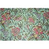 Mudit Crafts Cotton Flower Printed Jaipuri Fabric Dress Making Running Material For Women's