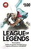 League of Legends €100 Buono regalo   Riot Points   VALORANT Points