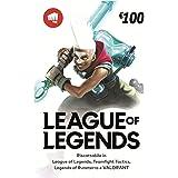 League of Legends €100 Buono regalo | Riot Points