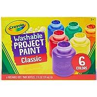 CRAYOLA 6 Washable Kids Paint, 54-1204