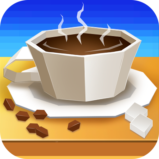 Coffee Shop Tycoon Simulator - Barista Management Career Chop Plate