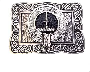 Dalziel Clan Crest Kilt Belt Buckle