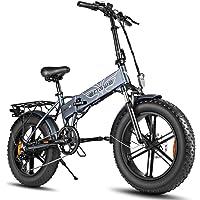 """ENGWE Elektro-Mountainbike 500W 20""""Fettreifen Elektrisch klappbares Strand-Snowbike für Erwachsene, Aluminium…"""