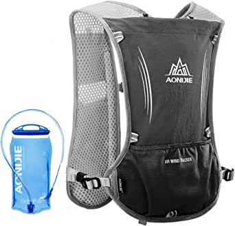 Lixada 5L Outdoor Hydration Pack Backpack with 1.5L Hydration Bladder For Camping Hiking Cycling Sport Bag