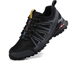 ASTERO Trainers Men Running Shoes Breathable Sports Sneakers for Fitness Outdoor Trail Running Walking Jogging UK Size 7-11