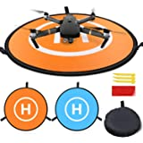 """Drones Landing Pad,Homga Universal Waterproof D 75cm/30"""" Portable Foldable Landing Pads For RC Drones Helicopter, PVB Drones,"""