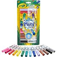Crayola - 14 Mini feutres à colorier - Loisir créatif - Coloriage - papeterie - dessin - à partir de 3 ans - Jeu de…