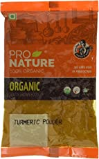 Pro Nature 100% Organic Turmeric Powder, 500g