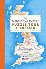 The Ordnance Survey Puzzle Tour of Britain: A Journey Around Britain in Puzzles (Puzzle Books) Paperback
