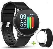 NEEKFOX Orologio Activity Fitness Tracker con Cardiofrequenzimetro da Polso Uomo Donna Bambini Impermeabile Smartwatch Bracci